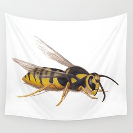 Wasp by Lars Furtwaengler | Colored Pencil / Pastel Pencil | 2011 Wall Tapestry