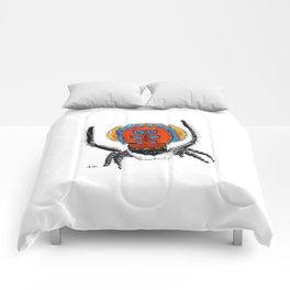 Peacock Spider Comforters