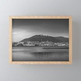 Santa Luzia, Viana do Castelo. Framed Mini Art Print