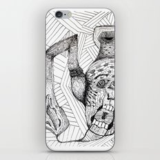 Screaming Face iPhone & iPod Skin