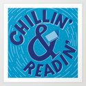 Chillin&Readin by thenerdlady
