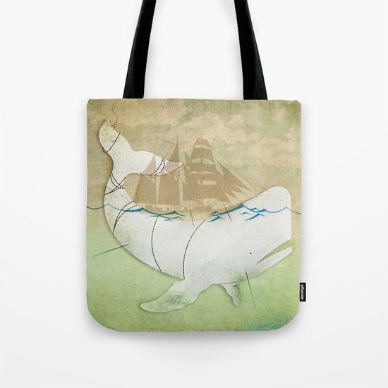 The ghost of Captain Ahab  Tote Bag
