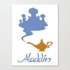 Aladdin Canvas Print