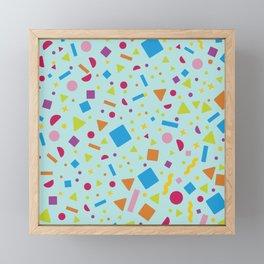 Geometric Figure Creation 6 Framed Mini Art Print