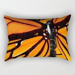 MONARCH BUTTERFLIES WING COLLAGE PATTERN 2 Rectangular Pillow