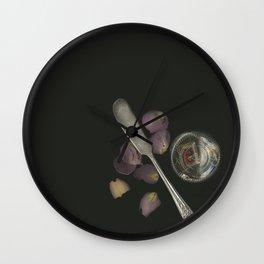 no fork, no knife Wall Clock