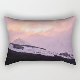 Rose Quartz Turbulence - III Rectangular Pillow