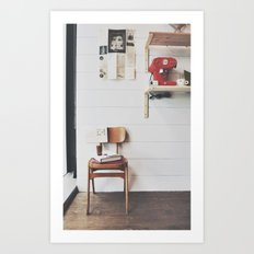 culture chair Art Print