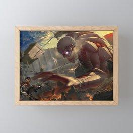Attack On Titan Framed Mini Art Print