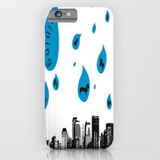 Raining Cats & Dogs Slim Case iPhone 6s