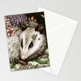 Blossom Possum Stationery Cards