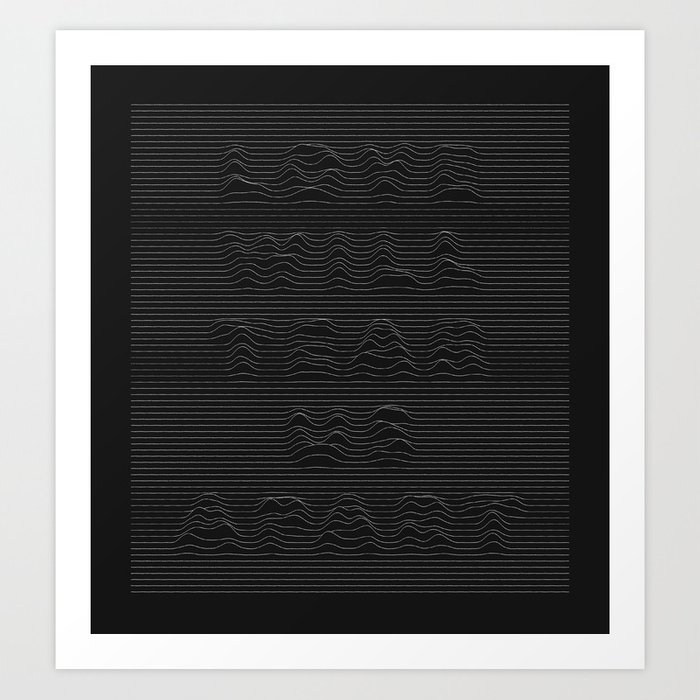 Love Will Tear Us Apart - 1 Art Print