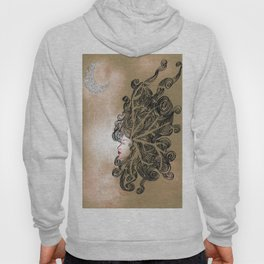 Enlightenment - Acrylic and Ink paint Hoody
