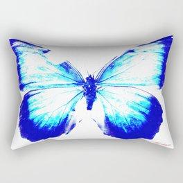 flies into the light Rectangular Pillow