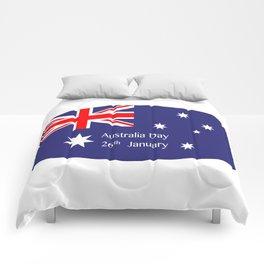 Australia Day Flag Comforters