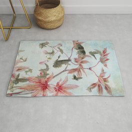 Maple And Butterflies Rug