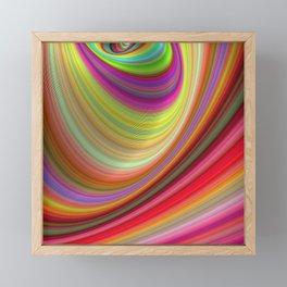 Illusion Framed Mini Art Print