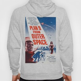 Vintage poster - Plan 9 from Outer Space Hoody