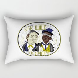 The Game is Afoot Rectangular Pillow