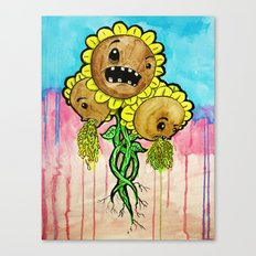 Sick Weeds Canvas Print