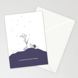 Love Keeps No Record of Wrongs Stationery Cards