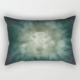 forest wolf Rectangular Pillow