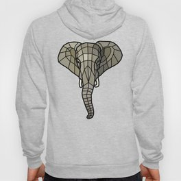 The Guardian - Mosaic Elephant Hoody