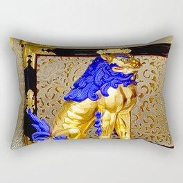Gorudenraion, golden lion Rectangular Pillow