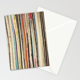 Record Collection Stationery Cards