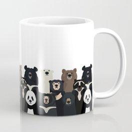 Bear family portrait Coffee Mug