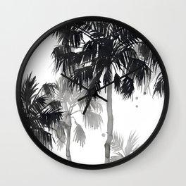 Paradis Noir III Wall Clock