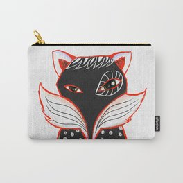 Kaleidoscope Fox Carry-All Pouch