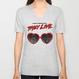Love They Live Unisex V-Neck