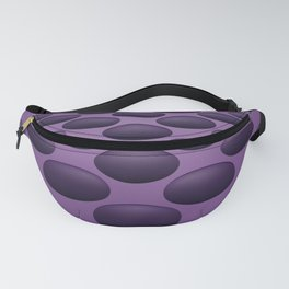 Purple Bumps Fanny Pack