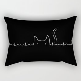 There is a cat in my heart Rectangular Pillow