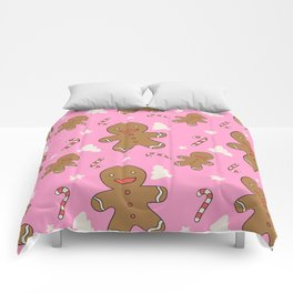 Gingerbread with Christmas Comforters