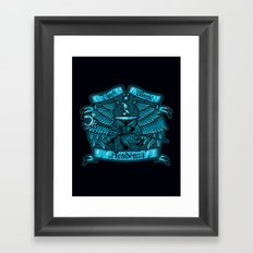 Black Magic Academy Framed Art Print