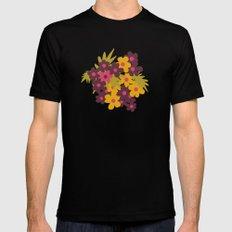Flowers For Lola Mens Fitted Tee Black MEDIUM