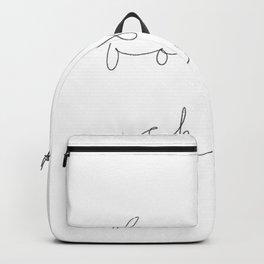 Bonjour Chérie Backpack