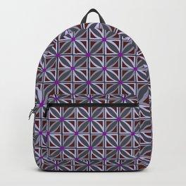 Jeweled Star Violet & Grey Backpack