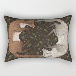 Foxes Rectangular Pillow