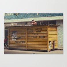todo cubano debe saber tirar y rirar bien Canvas Print