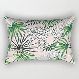 leopard marker graphic pattern Rectangular Pillow