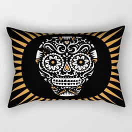 Sugar Skull SF Rectangular Pillow