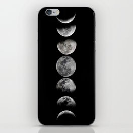 Phases of the Moon iPhone Skin