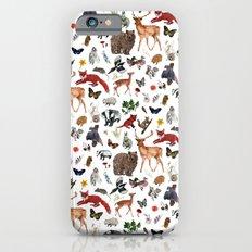 Wild Woodland Animals Slim Case iPhone 6