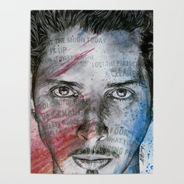 Pretty Noose: Red & Blue: Tribute to Chris Cornell Poster
