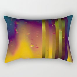 Paper Rain Rectangular Pillow