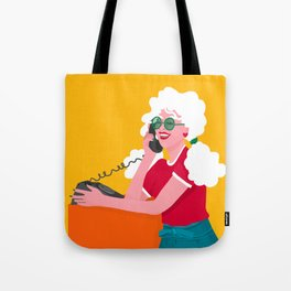 Calling the 80s Tote Bag