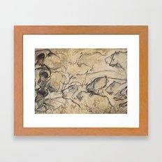 Aurignacian Art Framed Art Print